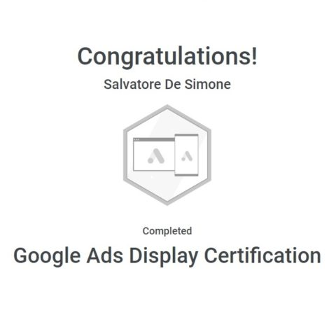 Certification Google Ads pour Tapageweb
